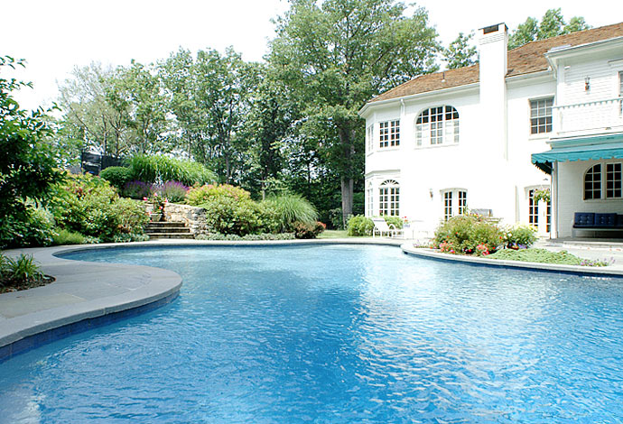 Types of backyard pools backyard pool design for Pool design types
